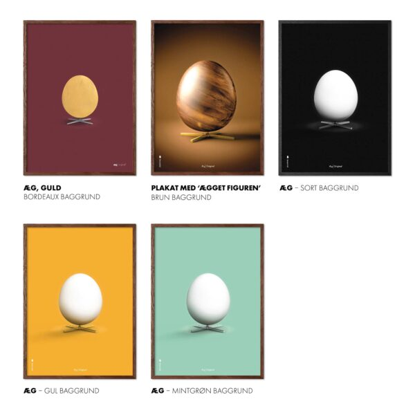 Egg posters from Brainchild, The Egg