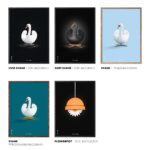 Swan posters from Brainchild, The Swan
